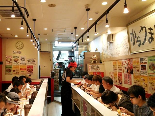 蒙古タンメン中本新宿店14