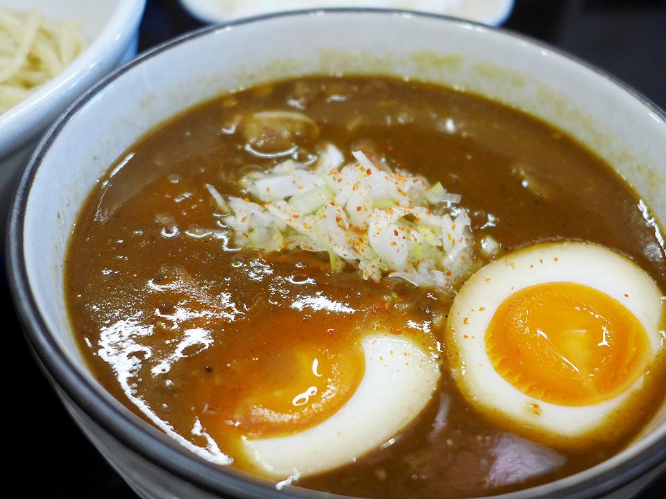 鶴麺(カレーつけそば)05