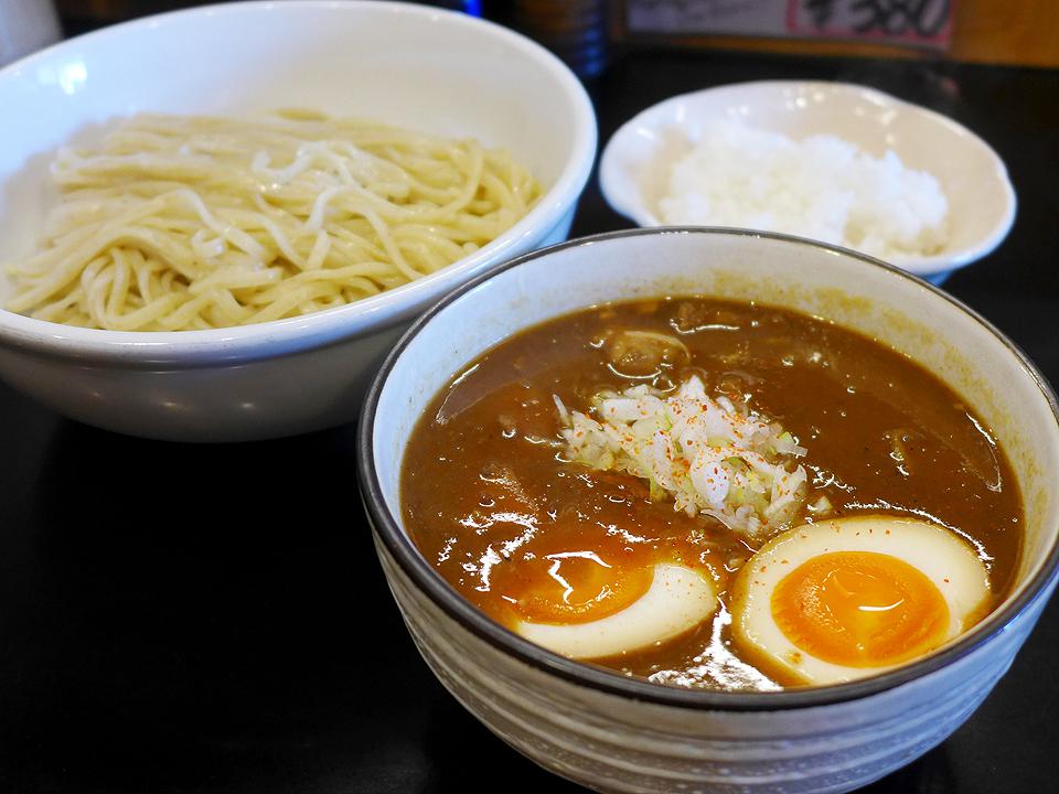 鶴麺(カレーつけそば)04