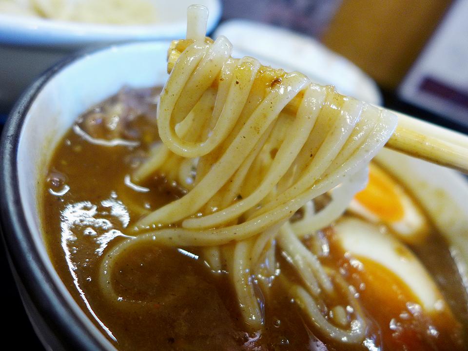 鶴麺(カレーつけそば)08