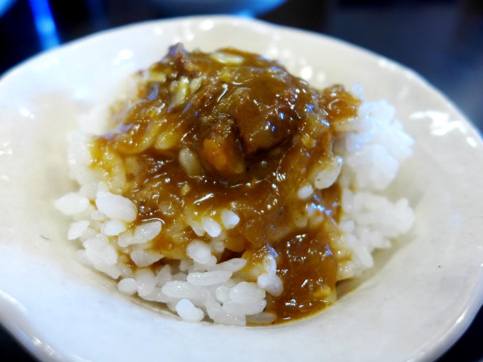 鶴麺(カレーつけそば)10