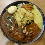 『Naga Curry』~邪道上等!!!天満宿借りカレーは独創性豊かなインドテイスト☆~