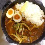 『カレー食堂 Spice.7』~魚介出汁とスパイスのWインパクト!!熱々が自慢の鉄鍋カレー店がOPEN☆~