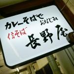 『信そば 長野屋』~三宮高架下の名物カレーそば☆~