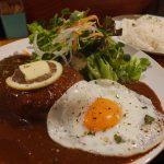 『食堂 虹の仏』~確かな肉質&ボリューム!!!圧倒的旨味の欧風ハンバーグカレー☆~