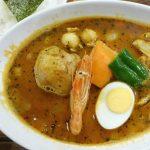 『カレー食堂心 下北沢店』~東京サブカルチャーの聖地で食材感豊かな絶品スープカレーを堪能☆~