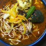 『Singh`s Kitchen Mini』~インド式スープカレーと麺の邂逅!!愈々カレーラーメンは新たな境地へ☆~